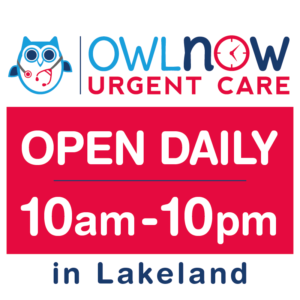 Lakeland-urgent-care-open-10am-10pm-daily-weekends-holidays